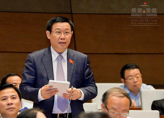 Chiều nay, Phó Thủ tướng Vương Đình Huệ lần đầu trả lời chất vấn trực tiếp - 1