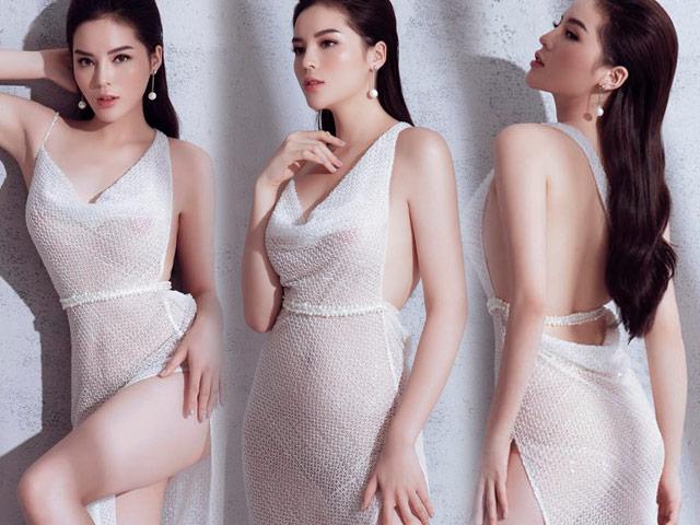 Bí mật sau chiếc váy mỏng manh đang gây tranh cãi của Kỳ Duyên