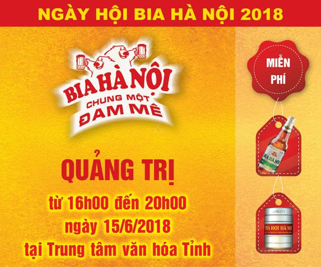 """""""Cháy vé"""" vào cổng Ngày hội Bia Hà Nội tại Quảng Trị - 1"""