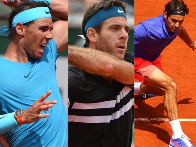 Clip hot Roland Garros: Del Potro dọc dây như Nadal, bỏ nhỏ tựa Federer