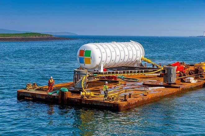Xem trung tâm dữ liệu dưới đại dương như tàu ngầm của Microsoft - 1