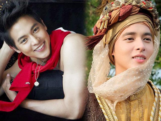 """""""Hoàng tử nụ cười Thái Lan"""" da mịn hơn con gái, mặt không góc chết"""