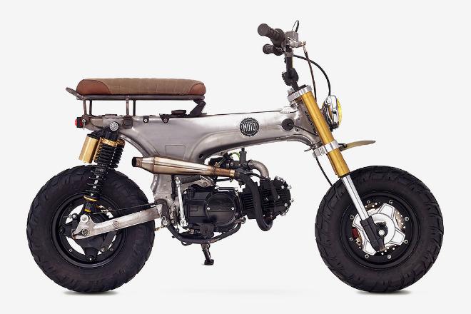Honda CT70 scrambler độ tuy nhỏ nhưng có võ - 1