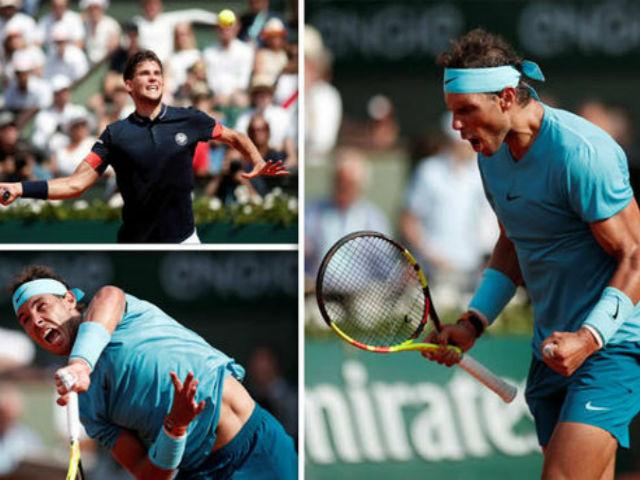 Chung kết Roland Garros: Thiem mưu đồ ám toán, vua Nadal dè chừng