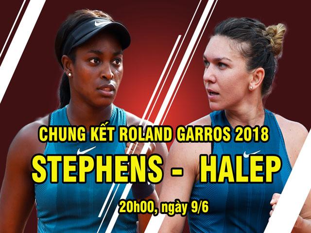 Chung kết Roland Garros, Halep - Stephens: Cuộc chiến nữ hoàng, tám lạng nửa cân
