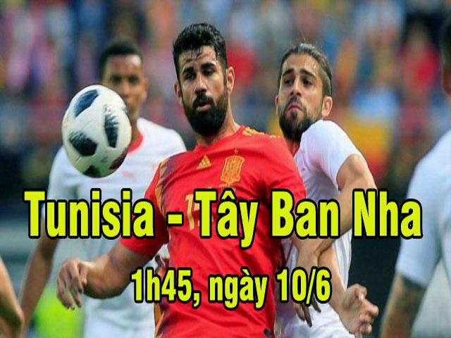 Tunisia - Tây Ban Nha: Thử nghiệm lần cuối, bệ phóng World Cup