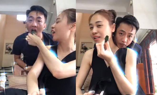 """Đàm Thu Trang lộ bí quyết """"giữ chân"""" Cường Đô la - 1"""