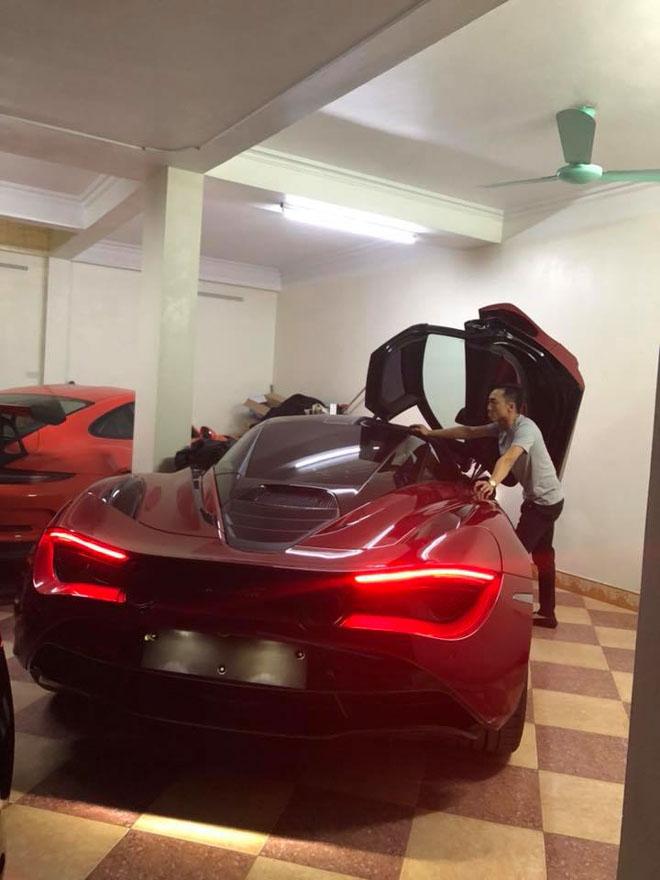 Cường ĐôLa xuất hiện bên McLaren 720S thứ hai tại Việt Nam: Giá hơn 20 tỷ đồng - 1