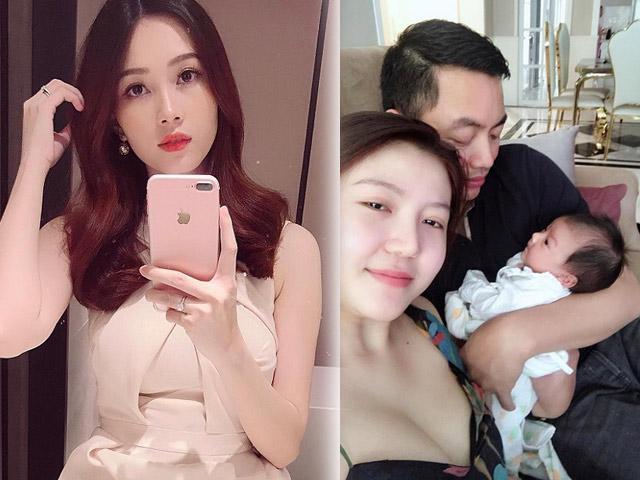 Hoa hậu Ngọc Duyên, Thu Thảo khoe chồng đại gia, con gái
