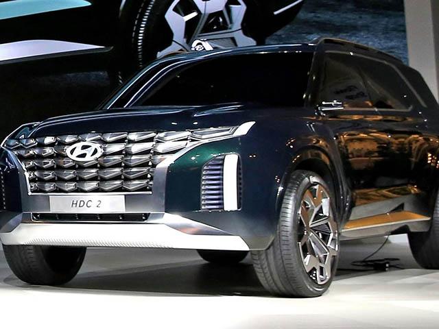 Hyundai ra mắt SUV cỡ lớn HDC2 Grandmaster: Mạnh mẽ, nam tính và hiện đại