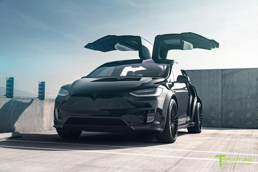 Tesla Model X độ bởi T Sportline: Ai bảo xe điện không thể độ? - 1