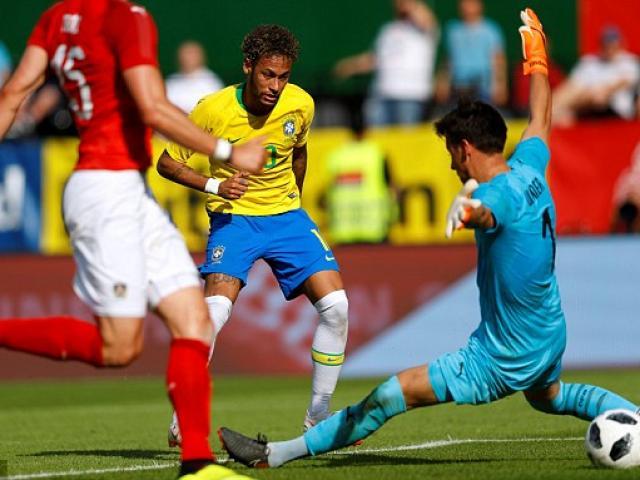 Tuyệt đỉnh Neymar: Siêu phẩm mãn nhãn, cán mốc lịch sử Brazil