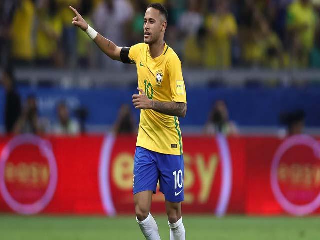 Brazil trước World Cup 2018: Neymar đỉnh cao, ghi bàn từ cột cờ góc