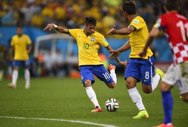 Áo - Brazil: Siêu sao Neymar thăng hoa, điệu samba hủy diệt - 1