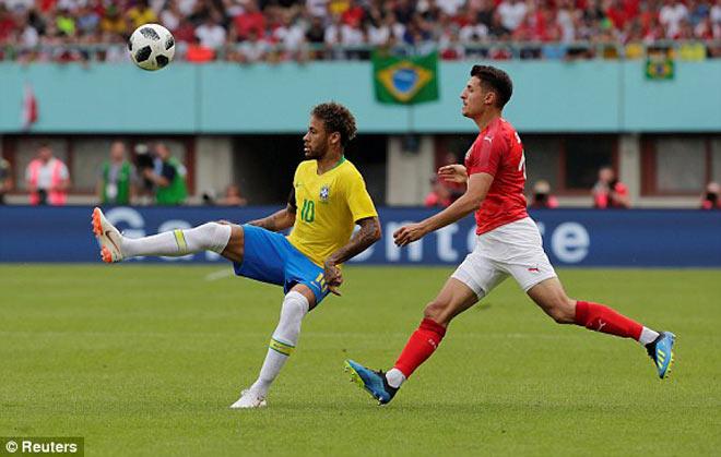 Tuyệt đỉnh Neymar: Siêu phẩm mãn nhãn, cán mốc lịch sử Brazil - 1