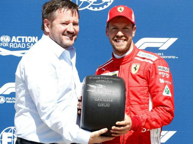 Đua xe F1, Canadian GP: Pole đầu tiên cho Ferrari sau 17 năm, Hamilton 3 lần mắc lỗi