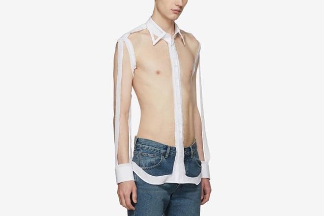 Chiếc áo sơ mi trong suốt có giá hàng ngàn đô la - 1