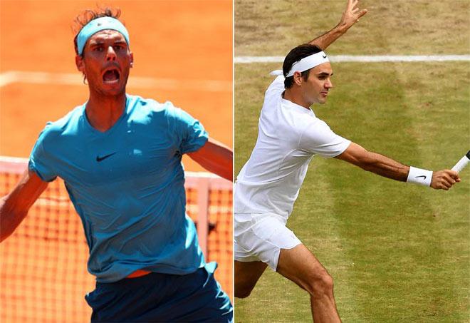 """Bảng xếp hạng tennis 11/6: Nadal ung dung trên đỉnh, Federer vào """"tử địa"""" - 1"""