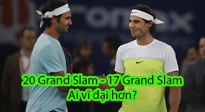 Muôn đời tranh cãi: Federer – Nadal, ai vĩ đại hơn? - 1
