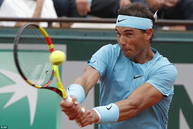 """Nadal 11 lần vô địch Roland Garros: Quyền lực """"Vua đất nện"""" - 1"""