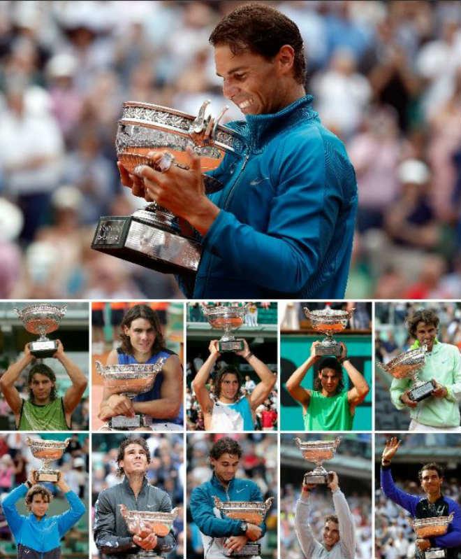 Nadal ngỡ là mơ với siêu kỷ lục Roland Garros, vẫn lo Federer soán ngôi - 1