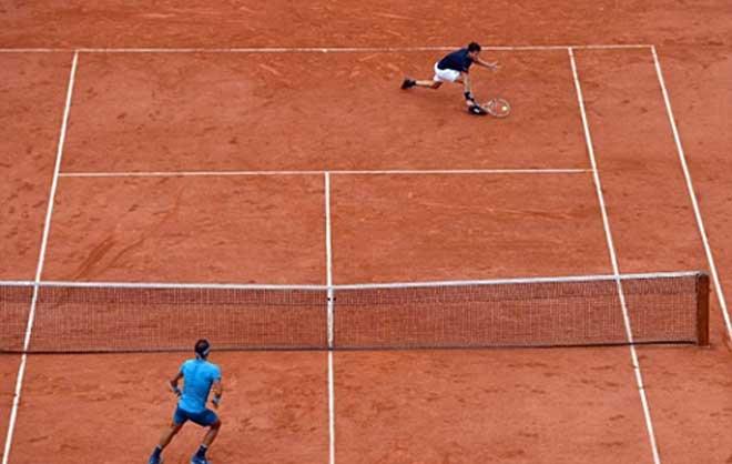 Nadal vùi dập truyền nhân Thiem: Cảnh giới thượng thừa - 1