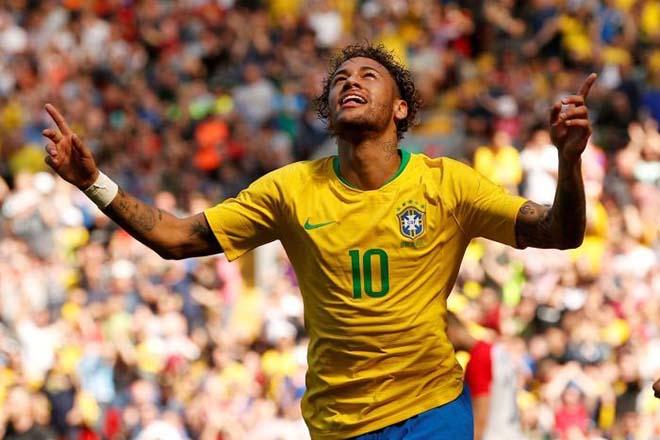 """ĐT Brazil: Neymar tái hiện """"Gót chân của Chúa"""", chờ làm trò Guti ở Real - 1"""
