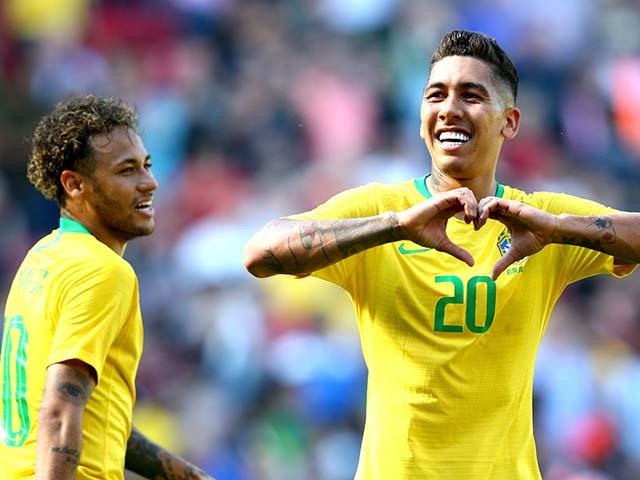 """""""Đại ca"""" tranh vàng World Cup: Brazil - Neymar tung hoành, hàng thủ """"vô đối"""""""