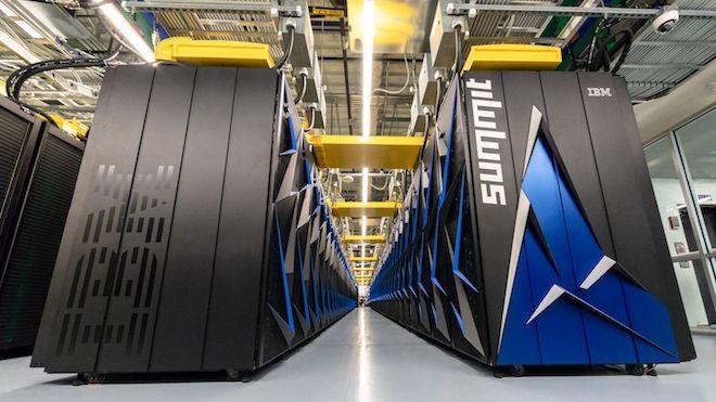 """Mỹ ra mắt siêu máy tính có """"bộ não"""" bằng 6,3 tỷ người - 1"""
