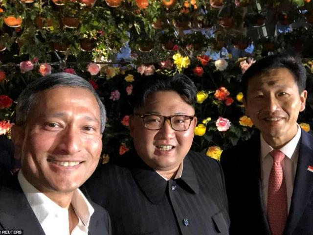 Bức ảnh selfie đầu tiên của Kim Jong-un