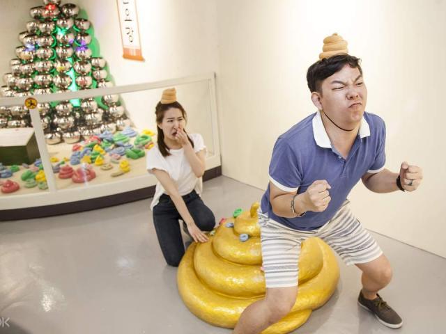 Cười té ghế với bảo tàng toilet có 1-0-2 tại Hàn Quốc