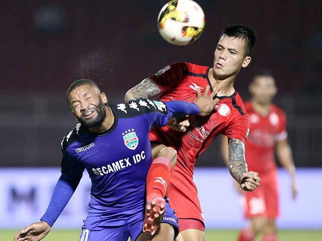 """TP. HCM - Bình Dương: """"Ronaldo Việt"""" solo đẳng cấp, bàn thắng nhanh kỷ lục"""