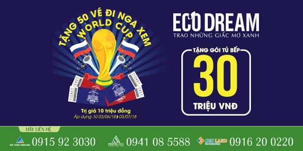 Eco Dream hòa nhịp cùng World Cup - 1