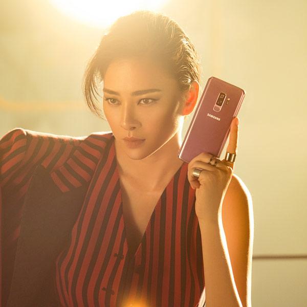 """""""Bắt bài"""" phối trang phục tài tình của Ngô Thanh Vân qua loạt màu Galaxy S9+ - 1"""