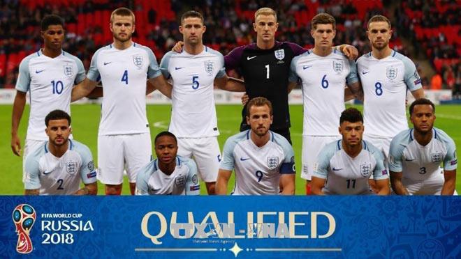 """ĐT Anh quyết """"gây bão"""" World Cup: Sức xuyên phá từ 3 """"mũi tên bạc"""" - 1"""