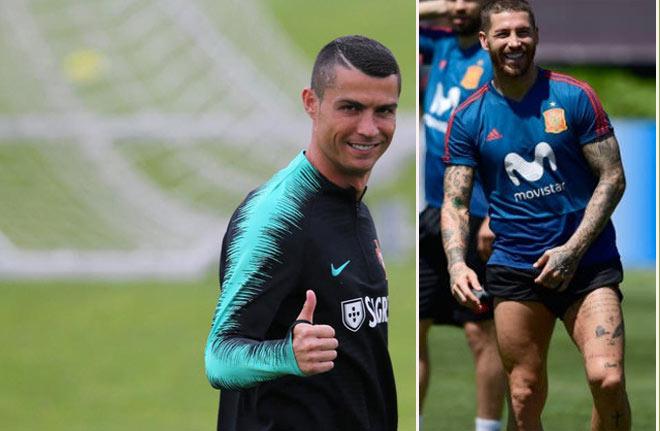 Đại chiến World Cup, Bồ Đào Nha - Tây Ban Nha: Ronaldo sợ Ramos quật ngã - 1