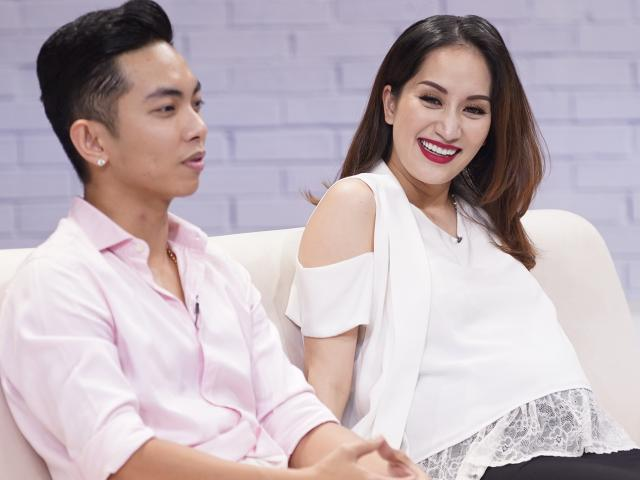Khánh Thi từng suýt sảy thai do áp lực hôn nhân lệch tuổi