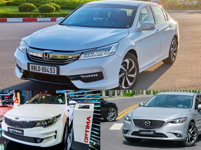 Đâu là mẫu sedan hạng D bán chạy nhất tại Việt Nam tháng 05/2018 vừa qua?