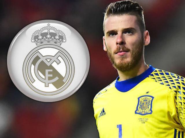 Chuyển nhượng MU: Real Madrid đổi tướng, chi 100 triệu euro mua De Gea