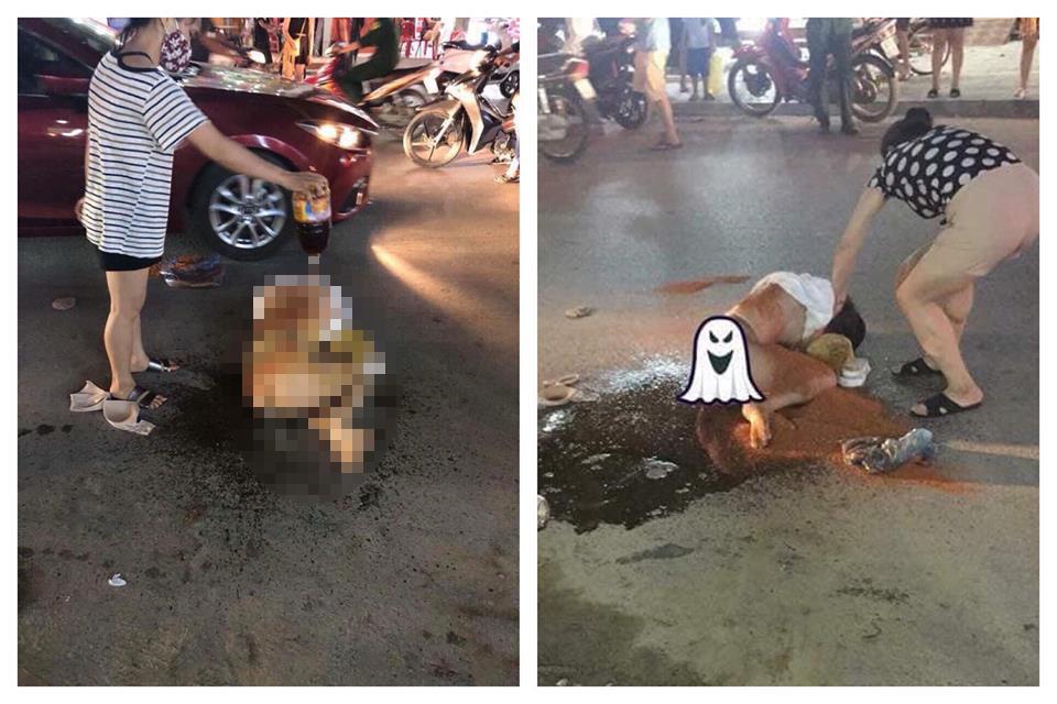 """Nóng 24h qua: """"Kiều nữ"""" lên tiếng về vụ bị đổ nước mắm, ớt vào người - 1"""