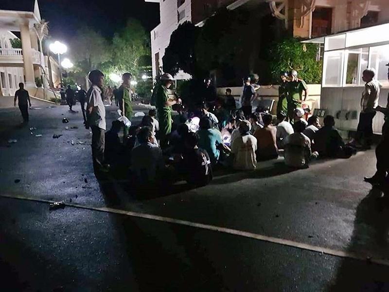 Bình Thuận bắt giữ nghi can đưa tiền, xúi giục đi gây rối - 1