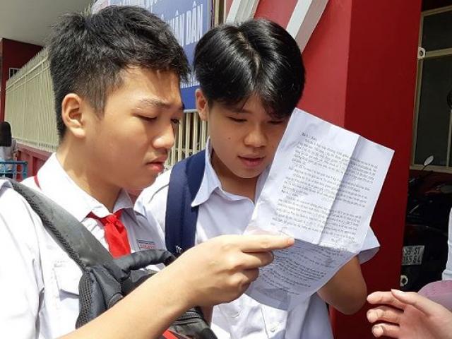 Hơn 50% bài thi môn Toán vào lớp 10 ở TPHCM dưới 5 điểm