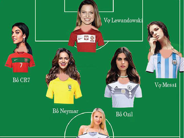 Hot nhất World Cup 2018: Đội bóng hồng ngập tràn mỹ nhân đắt giá