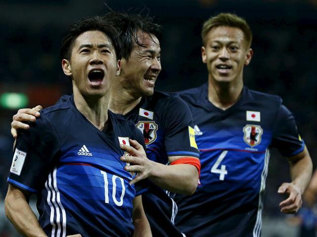 """Nhật Bản đè """"Siêu đại bàng trắng"""", dễ vô địch World Cup 2018 hơn Anh"""