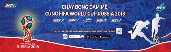 Cùng HTV sống trọn đam mê World Cup 2018 - 1