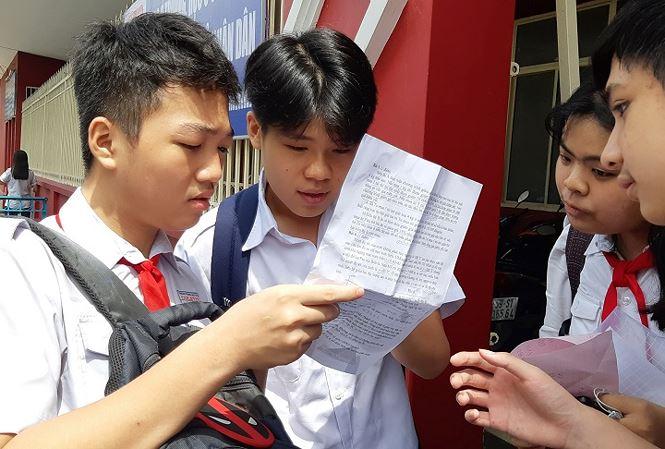Hơn 50% bài thi môn Toán vào lớp 10 ở TPHCM dưới 5 điểm - 1