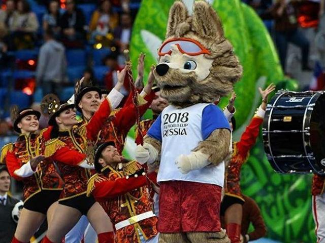 Khai mạc World Cup và món 'đặc sản' Nga - 1