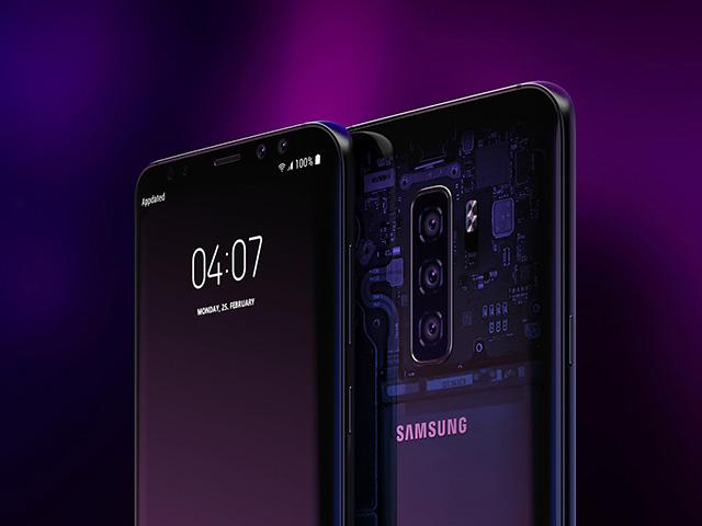 Galaxy S10 và LG G8 sẽ trang bị công nghệ màn hình tích hợp âm thanh