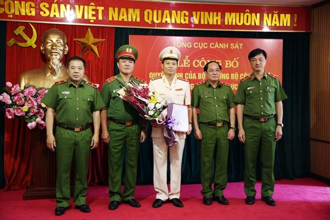 Đại tá Trần Ngọc Hà giữ chức Cục trưởng Cục Cảnh sát hình sự C45 - 1