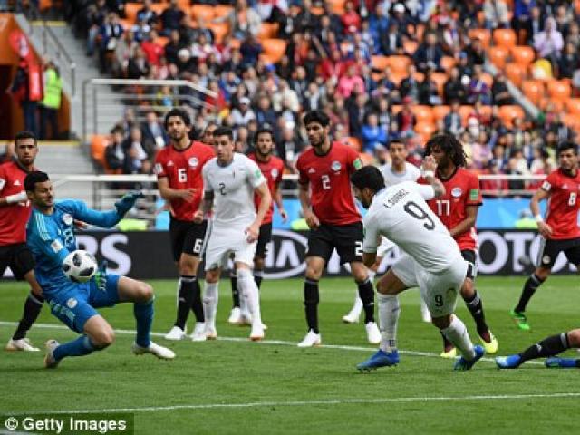 Ai Cập – Uruguay: Siêu sao bất ngờ, rực sáng phút 89